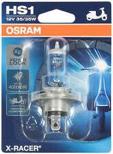 Osram 64185XR-01B X-RACER HS1 Halogen Motorrad-Scheinwerferlampe, Einzelblister