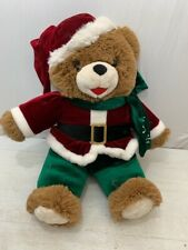 2014 WalMART CHRISTMAS Snowflake TEDDY BEAR Santa