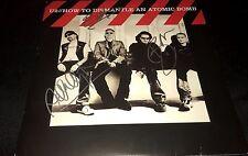 Bono The Edge & Adam U2 How To Dismantle An Atomic Bomb Signed Album Coa Proof