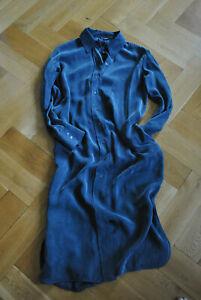 Kleid, weich fallend, Material:Cupro (natürlich/vegan;weich, wie Wildseide)