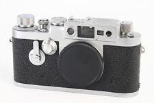 """""""Exc+++"""" Leica IIIG Rangefinder camera LTM39 From Japan#9484"""