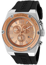Swiss Legend Men's 30025-09-RB Throttle Chronograph Rose Dial Watch
