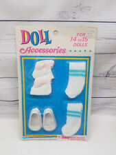 """Totsy Doll Accessories Shoes Socks For Dolls 14-15"""" New"""