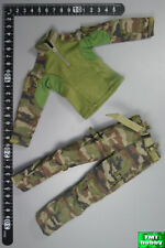 1:6 Scale ES 26033R Franch Special Force Breacher - CEC Camo Shirt & Pants
