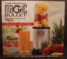 The Original Magic Bullet 7 Piece Set Blender & Mixer Personal Size #MB-BX336-23