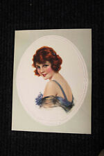 """Excellent ORIGINAL Large ART DECO 1920's PIN UP LITHO """"SALLY"""" By J. Knowles Hare"""