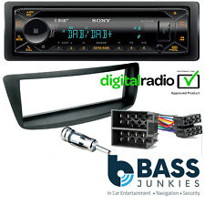 Peugeot 107 2005-14 SONY Bluetooth DAB CD MP3 USB AUX Car Stereo & Fitting Kit