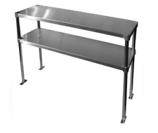 Double OverShelf Stainless Steel Nsf Listed