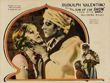 1926 RUDOLPH VALENTINO in SON OF THE SHEIK  Mini Lobby Card  Photo #3  (206-X )