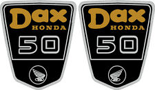 Honda CT70 DAX 50,  Frame Decals L&R Side Badges, Graphics, Stickers,  GOLD