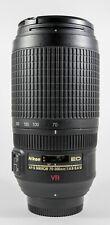 Nikon AF-s Nikkor 70-300mm F/4.5-5.6 VR ED Full Frame (FX) DSLR Lens
