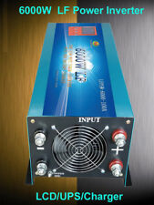 24000W/6000W LF Pure Sine Wave Power Inverter LCD/UPS/Charger 24V DC/230VAC 50HZ