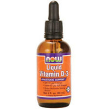 Liquid Vitamin D-3 2 OZ by Now Foods