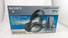 Retro New Sony MDR-DS4000/M Infrared Cordless Digital Surround Headphone System