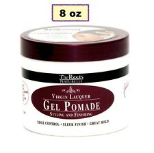 THE ROOTS NATURELLE VIRGIN LACQUER GEL POMADE EDGE CONTROL SLEEK FINISH 8oz