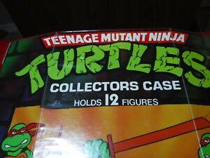 VTG 1988 TMNT Teenage Mutant Ninja Turtles Mirage Tara Collectors Case Holds 12