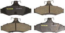 Disc Brake Pad Set-Total Solution Ceramic Brake Pads Rear Monroe CX724