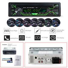 12V Carbon Fiber Color Car Stereo Radio Audio MP3 Player USB FM SD AUX Bluetooth