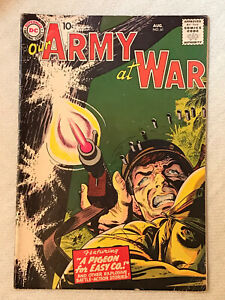 """Our Army at War"" Comic Book #61 VG 1957"
