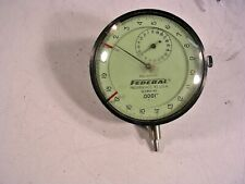 FEDERAL PRODUCTS DIAL INDICATOR  GAUGE MODEL E3BS-R1 NO PLASTIC TIP