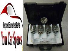 Renault Megane Scenic Mk1 Locking Wheel Bolts (x4) & Key (x1) Set