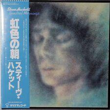 Steve Hackett-Spectral Mornings Japanese mini lp SHM-CD Genesis solo