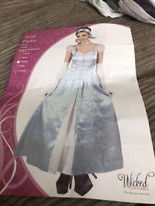 Wicked Costumes Sweet Cinders Blue  Princess Costume Size Medium