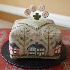 Block Party - Home - Pincushion - Hands On Design - New Chart + Wool