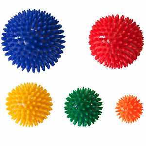 Massage Ball YogaStudio Spikey Deep Tissue Release Gym Yoga Stress 6 7 8 9 10cm