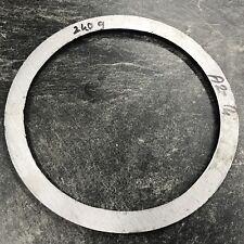 1 Rohrstück Rohr Stahl Innen 140 mm, Außen 165 mm, 5 mm Hoch, 240g  (A2-14)