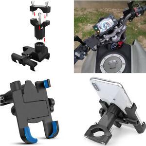 360° Aluminum Alloy Stand Bracket Handlebar Phone Mount Motorcycle Phone Holder