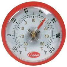 "Cooper Thermometer, Surface / Window Mount, 2"" Diameter"