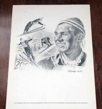 ART TOKLE 1960's print - George Loh Drawing Equitable Life Collection