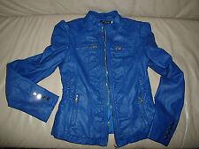 Chic Fille Veste rojal-Bleu Taille 1/s comme NEUF!!!