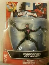 Power Rangers Ninja Steel - Training Mode Pink Ranger Figure Bandai NEW SEALED