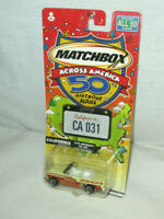 2001 Matchbox Across America California 1955 Bel Air new/sealed