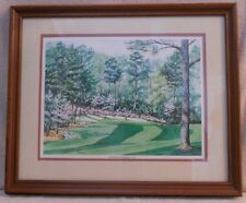 Augusta National #13 Print by Gordon Wheeler