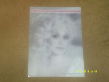 Dolly Parton sheet music Think About Love 1984 4 pages (VG+ shape)