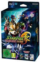 Star Fox Zero Wii U First Print EDITION Nintendo WII U IN ITALIANO box cartone