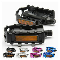 1 Pair Durable Aluminum Alloy Bicycle Pedal Mountain Bike Cycling Pedals BMX MTB