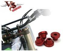 ZETA Rubber Killers Honda RED CRF250 04-17 CRF450 02-17