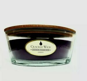 Crackle wick large candles 485 g 2 crackling wood wick. 🍒 cherry