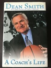 A Coach's Life : My Forty Years in College Basketball by Dean Smith SIGNED 1st