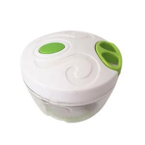 Hand Chopper  Manual Rope Food Processor Silcer Shredder Salad Maker