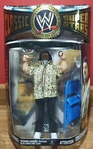 BNIB WWE CAPTAIN LOU ALBANO JAKKS CLASSIC SUPERSTARS SERIES 12 WRESTLING FIGURE