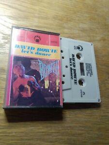 DAVID BOWIE - LET`S DANCE - Cassette Tape Album