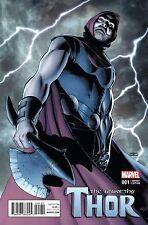 Unworthy Thor #1 Cassaday Variant 1:25 Marvel Comics 1st Print NM 11/02 Comic