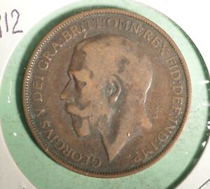 1912 Great Britain Penny  -  INV#GB192