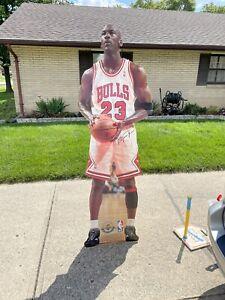 Vintage 1996 Upper Deck Michael Jordan Life Size Stand Up Cardboard Cutout
