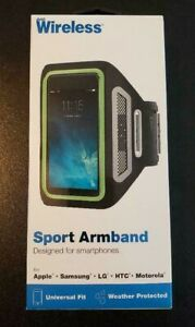 JUST WIRELESS SPORT ARMBAND DESIGNED FOR SMARTPHONES WITH UNIVERSAL FIT